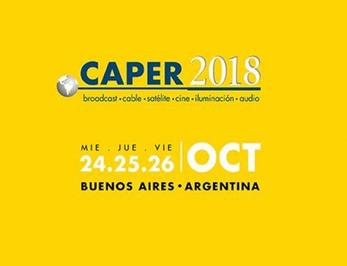 En Octubre llega CAPER 2018. MACH LED presente