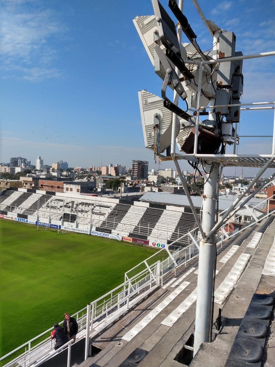 Central Córdoba será el primer estadio de Primera División con una iluminación 100% de LED