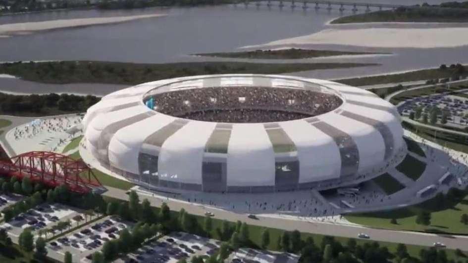 El INTI evaluó luminarias para el futuro estadio único de Santiago del Estero